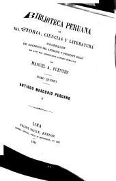 Biblioteca peruana de historia, ciencias y literatura: Volumen 5