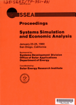 Systems Simulation and Economic Analysis