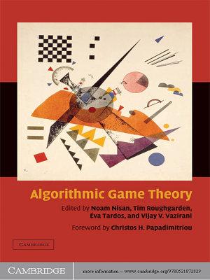 Algorithmic Game Theory PDF