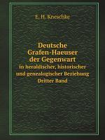 Deutsche Grafen Haeuser der Gegenwart PDF