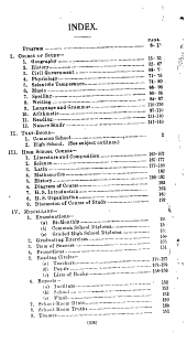 State Manual and Uniform Course of Study for the Elementary and High Schools of Indiana