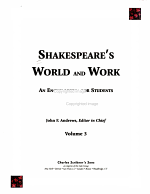 Shakespeare s World and Work PDF