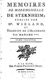 Mémoires de Mademoiselle de Sternheim: Volume1