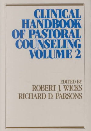 Clinical Handbook of Pastoral Counseling PDF