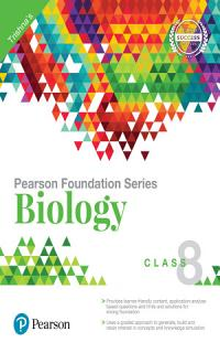 IIT Foundation Biology for Class 8 by Pearson Book