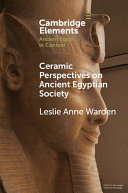 Ceramic Perspectives on Ancient Egyptian Society