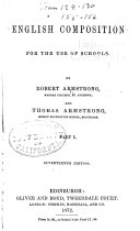 English Composition for the Use of Schools
