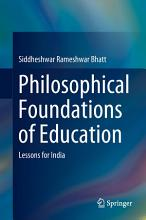 Philosophical Foundations of Education PDF