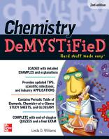 Chemistry DeMYSTiFieD  Second Edition PDF