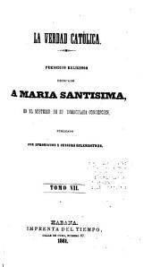 La verdad católica: Volumen 7