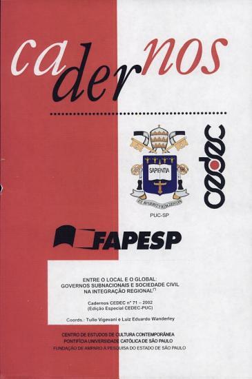 Listagem de Cadernos CEDEC PDF