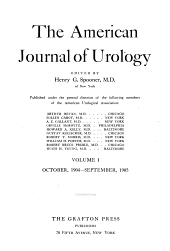 American Journal of Urology and Sexology: Volume 1