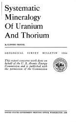 Geological Survey Bulletin Book PDF