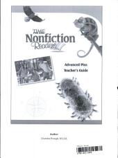 TIME For Kids Nonfiction Readers: Advanced Plus Teacher's Guide