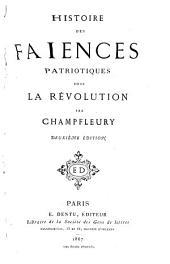 Histoire des faïences patriotiques sous la révolution