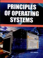 Principles of Operating Systems PDF