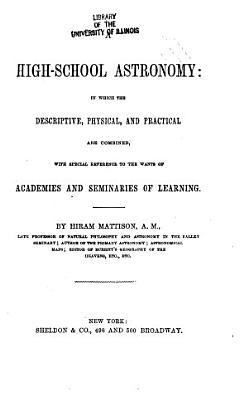 A High school Astronomy PDF