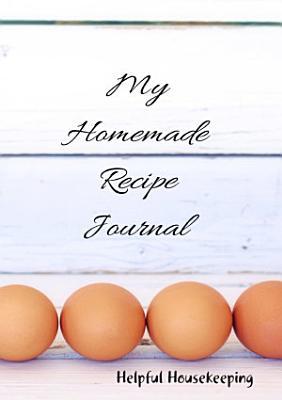 My Homemade Recipe Journal