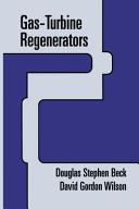Gas-Turbine Regenerators