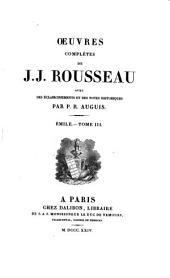 Oeuvres complètes de J.J. Rousseau: Volume5