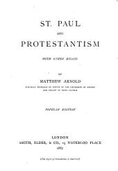 St. Paul and Protestantism: With Other Essays
