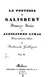 La contessa di Salisbury. Romanzo storico: Volumi 5-6
