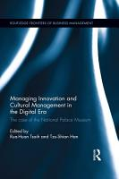 Managing Innovation and Cultural Management in the Digital Era PDF