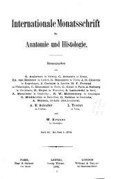 Internationale Monatsschrift Für Anatomie und Physiologie: Volume 3