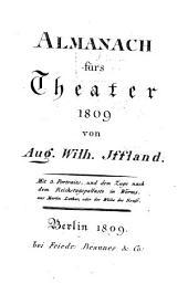 Almanach fürs Theater: 1809