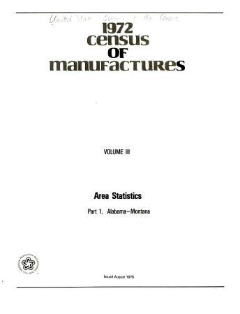 Census of Manufactures PDF