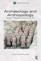 Archaeology and Anthropology PDF
