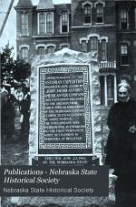 Publications of the Nebraska State Historical Society