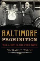 Baltimore Prohibition PDF