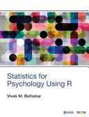 Statistics for Psychology Using R