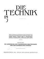 Die technik im zwanzigsten jahrhundert: Band 3