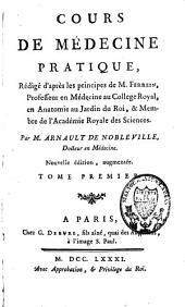 Cours de médecine pratique, rédigé d'après les principes de Ferrein: Volume1