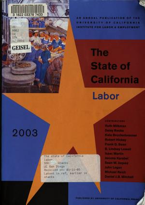 The State of California Labor PDF