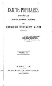 Cantos populares españoles: Volumen 4