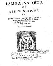 L' Ambassadeur Et Ses Fonctions: Volume2