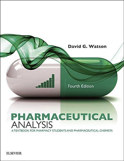 Pharmaceutical Analysis E Book PDF