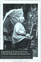 Exposition de l'oeuvre de Corot à l'Ecole Nationale des Beaux-Arts