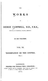 The Works of George Campbell: Volume 3