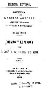 Poemas y leyendas: Volumen 2