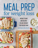 Download Meal Prep for Weight Loss Book