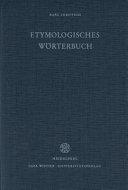 Etymologisches W  rterbuch der europ  ischen  germanischen  romanischen und slavischen  W  rter orientalischen Ursprungs PDF