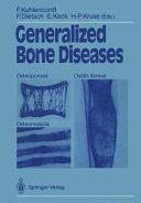 Generalized Bone Diseases PDF