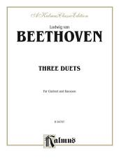 Three Duets: For Clarinet and Bassoon