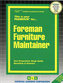 Foreman Furniture Maintainer