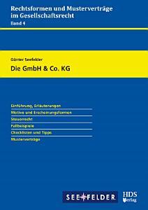 Die GmbH   Co  KG PDF