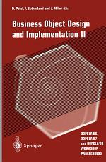 Business Object Design and Implementation II
